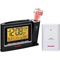 First Alert Radio Controlled Projection Clock
