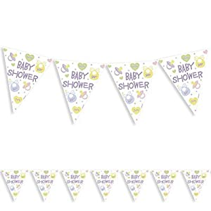 baby shower bunting baby