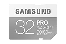 Samsung 32GB PRO Class 10 SDHC Card up to 90MB/s (MB-SG32E/AM)