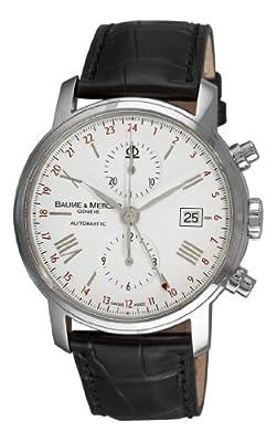 Baume & Mercier Men's 8851 Classima Executives Chronograph White Dial Watch by Baume & Mercier