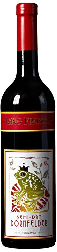 2010 King Frosch Dornfelder Semi Dry 750 mL Wine (Dornfelder Wine compare prices)