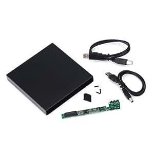 HDE (TM) External CD DVD IDE/PATA Enclosure