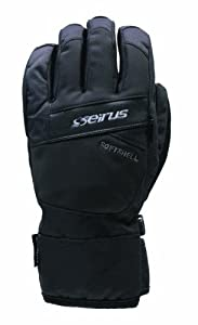 Seirus Innovation Men's Softshell Ion Shorty Glove, Black, Small