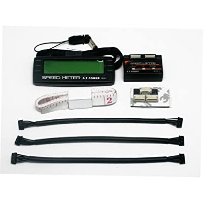 GT Power RC Rotational Meter Speed Acceleration Kit for Sensored Brushless Motor