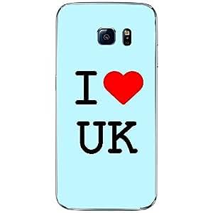 Skin4gadgets I Love UK Colour - Light Blue Phone Skin for SAMSUNG GALAXY S6 EDGE (G9250)