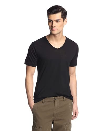 Hudson Jeans Men's Short Sleeve V-Neck Tee