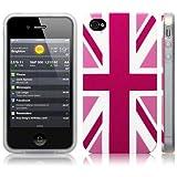 iPhone 4S / iPhone 4 'Cool Britannia Pink' (Designed by Creative Eleven) TPU Gel Skin / Case / Coverby Call Candy