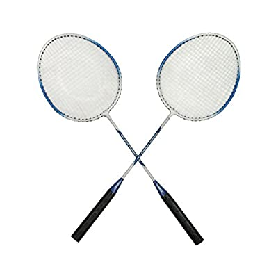 Tennex Badminton Set T111 - Iron Body With 3/4 Cover - Blue