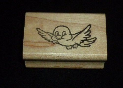 Small Bird Rubber Stamp - 1