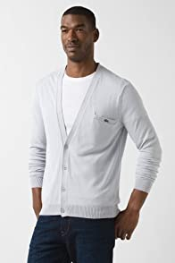 Light Weight Cotton Cardigan With Pocket