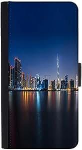 Snoogg White Burj Khalifa Designer Protective Phone Flip Back Case Cover For Lenovo Vibe K4 Note