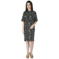 Isadora Women's Black Shirt Dress