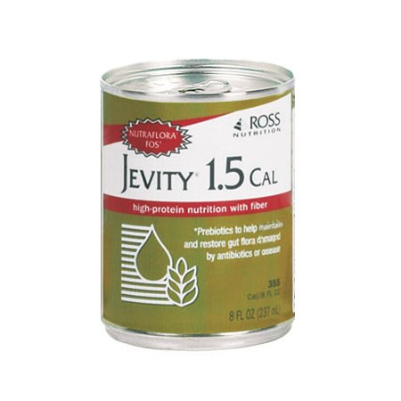 Jevity 1.5 CAL  High Protein Nutrition with FOS, 8-Ounce Cans (Pack of 24)