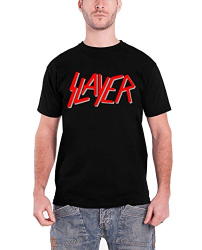Slayer スレイヤー Tシャツ レッド band Logo バンド・ロゴ...