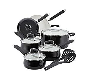 Paula Deen Savannah 12-pc. Black Cookware Set