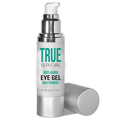 Under Eye Gel With Green Tea, Peptides, Hyaluronic Acid, Cucumber & Vitamin C. Useful For Both Men & Women - 100% Satisfaction Guaranteed - Made In The Usa