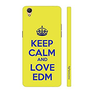 Enthopia Designer Hardshell Case LOVE EDM Back Cover for Oppo F1 Plus