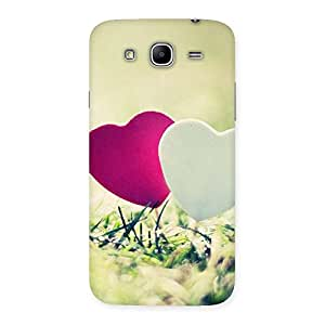 Couple Heart Back Case Cover for Galaxy Mega 5.8