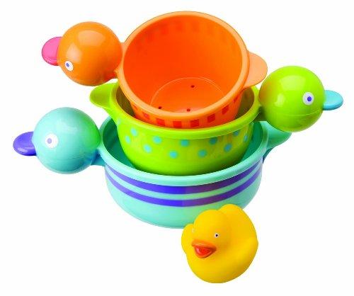 Imagen de Alex Jr. Bañera Joy Quacky Copas Bath Toy (los colores pueden variar)