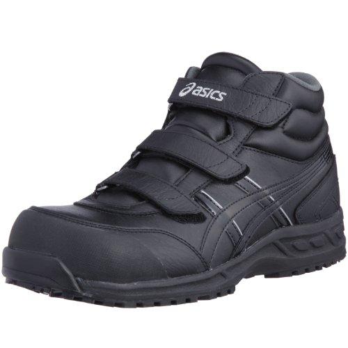 (アシックス)ASICS 安全靴ウィンジョブ53S FIS53S 25.5 cm ブラック/ブラック