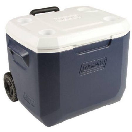 Coleman Xtreme 50-Quart Wheeled Cooler, Keeps ice up to 5 days at temperatures up to 90 degrees (Coleman 45 Can Cooler compare prices)