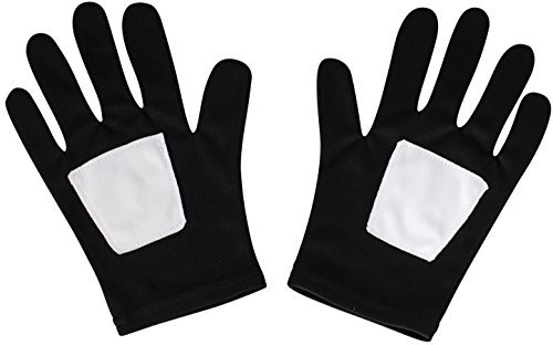 Rubie's Costume Co - Ultimate Black Spider-Man Kids Gloves