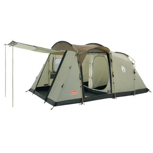Coleman Mackenzie Cabin X4 Four Man Tent - Moss/Brown