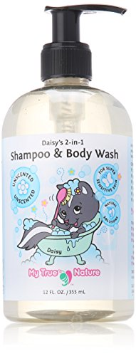 My True Nature Daisy's 2-in-1 Shampo & Body Wash - Unscented - 12 oz - 1