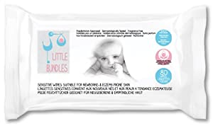 Little Bundles Fragrance Free Baby Wipes (Pack of 12--960 Wipes in Total)