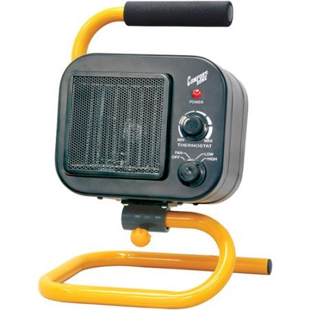 Comfort Zone Electric Compact Shop Heater (120v Pool Heater compare prices)