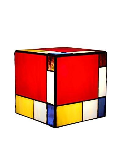 Arte dal Mondo Adm Studio Abat-Jour Cubo Mondrian