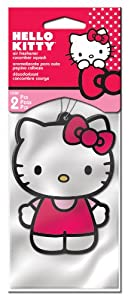 Hello Kitty Air Freshener - Strawberry Scent - 2 Pack from Plasticolor