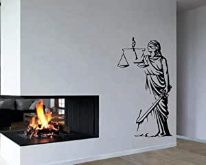 Wall vinyl decal sticker decor home room for Room decor justice