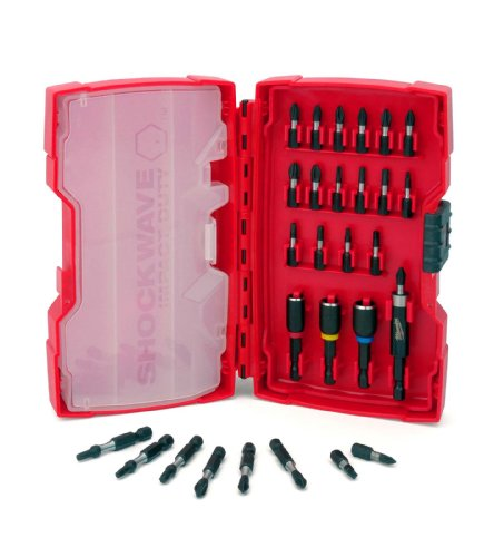 Milwaukee 48-32-4401 Shockwave 29-Piece Driver Bit Set (Shockwave Drill Set compare prices)