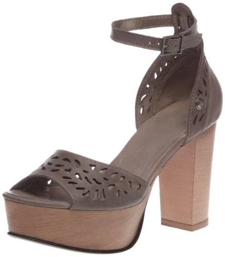 Neosens Women's Rubi 192 Fashion Sandals Gray Gris (Grey) 6.5 (40 EU)
