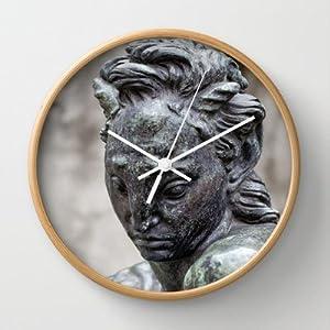 Society6 - Musee D'art Contemporain Du Chiado Wall Clock by Sébastien BOUVIER