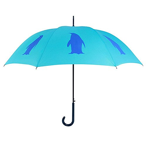 San Francisco Umbrella Co, Two Tone Blue Penguin Umbrella (Umbrella Company compare prices)