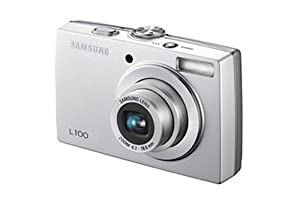 Samsung L100 8.1MP Digital Camera with 3x Optical Zoom (Silver)