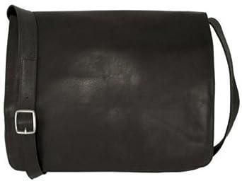 Latico Yosemite Large Black Messenger Bag