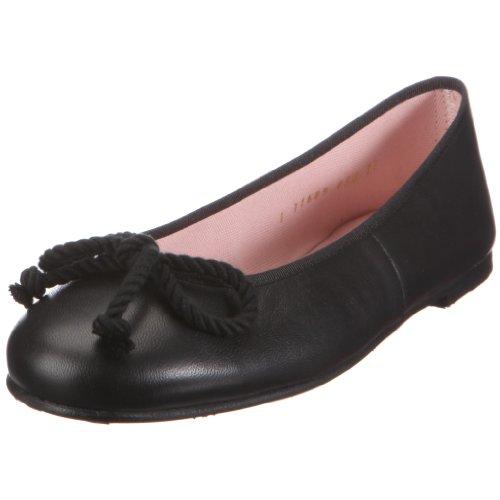 Pretty Ballerinas 35663, Ballerine in pelle liscia Donna, (Schwarz (Coton Negro - Glattleder Schwarz)), 35