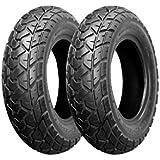 バイクパーツセンター バイク用タイヤ 130/90-10 70J T/L 2本セット チューブレス ホンダ ズーマー リア  790802