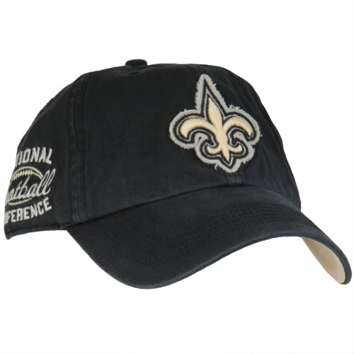 New Orleans Saints - Logo Barton Adjustable Cap Black at Amazon.com