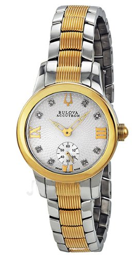 Bulova Accutron Masella Two-tone Ladies Watch 65P100