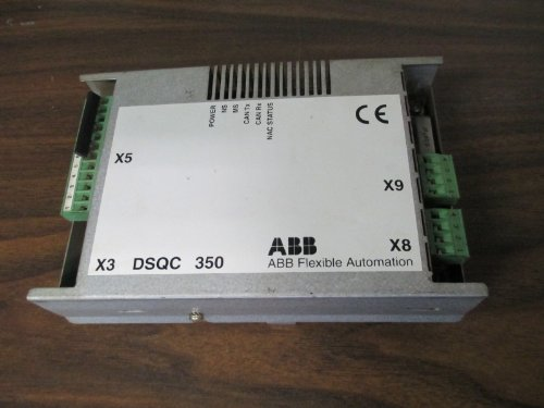 Abb Dsqc 350 3Hne 00025-1 Remote I/O Unit Irb 7600 6600 Power Robot