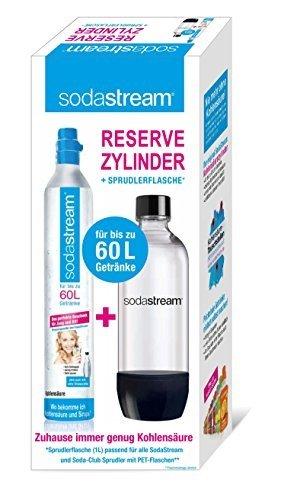 Sodastream 2260513 Special Pack -  Cilindro in Licenza 60L con Bottiglia Pet 1L
