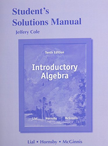 student-solutions-manual-for-introductory-algebra-by-jeff-cole-2013-02-10