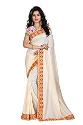 Gokul Vastra Georgette Saree (Pack of 6) (P-BT-119_6_Beige)