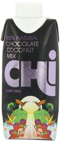 Chi 100 Percent Natural Chocolate Coconut Milk Case (Pack of 12)