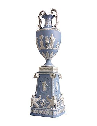 Wedgwood Bentley 5WB0000020 Blues Snake Handled Vase 5WB0000020
