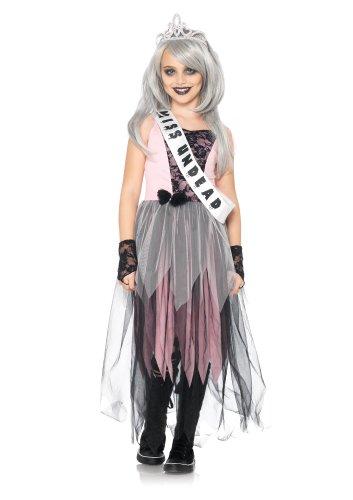[Leg Avenue Children's Zombie Prom Queen Costume] (Zombie Queen Costumes)